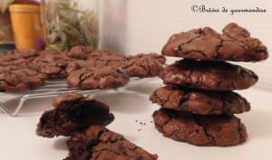 Brownie cookies au chocolat