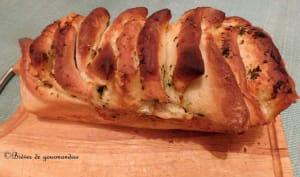 Pull apart bread persillé au Cantal entre-deux