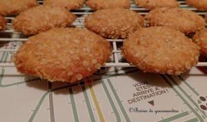 Sablés au Cantal et flocons d'avoine