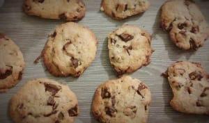 Cookies aux Pépites de Chocolat et à la Poudre d'Amande