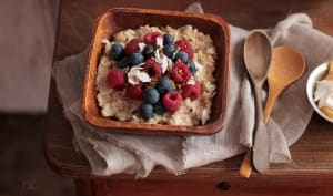 Porridge au Quinoa et Coco