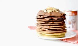 Cacao pancakes