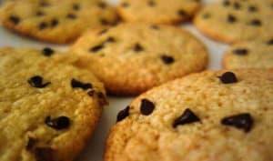 Cookies chocolat coco - Pamcakes