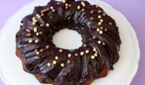bundt cake au chocolat au lait
