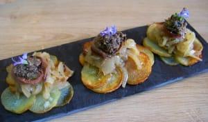Pommes de terre en habit niçois