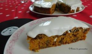 Mon carrot cake aux noix et oranges confites