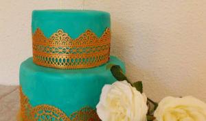 Layer cake rhum ananas citron vert