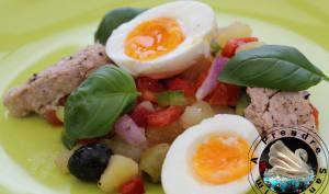 Salade fraîche à l'andalouse