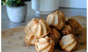 Bouchées aux pommes à la purée d'amandes