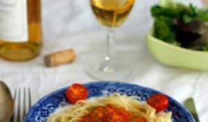 Sauce crémeuse à la tomate