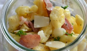 Knepfle au fromage blanc