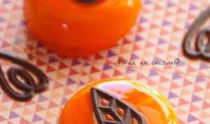Palets abricots coeur chocolat