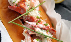 Lobster rolls et mayo maison