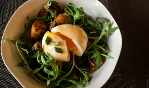 Pommes de terre nouvelles à la sauce de soja