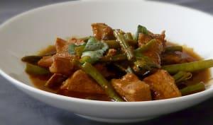 Curry rouge de porc thaï