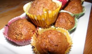 Muffins aux baies de Goji et à la noisette