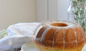 Bundt cake à la Crème fraîche et au Limoncello