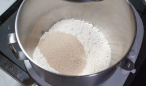 Réaction de la levure en présence de sel ou de sucre
