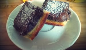 Brownies double chocolat