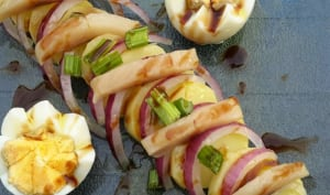 Salade de pommes de terre harengs fumés