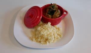 Curry d'agneau coco