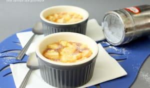 petite crème normande aux pommes