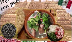 Sauté de porc aux haricots noirs