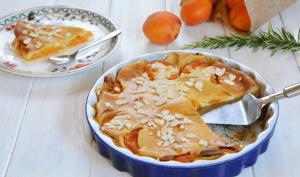 Clafoutis aux abricots rôtis et romarin