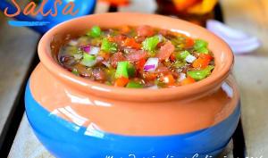Salsa Criolla pour grillades argentines