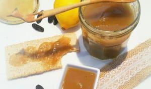 Confiture Rhubarbe au Citron et Fève de Tonka