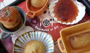 Muffins à la confiture de prunes maison