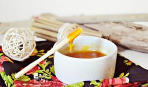 Sauce ananas épicée réduite gingembre piment d'Espelette