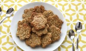 Biscuits aux flocons d'avoine et au miel