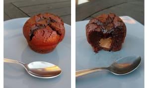 Fondants au Chocolat Noir au cœur Praliné