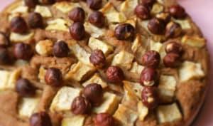 Gâteau pommes châtaignes et noisettes