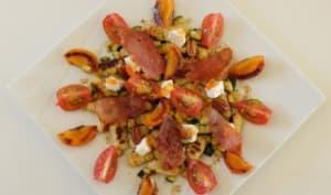 Salade de gnocchi en sucré-salé