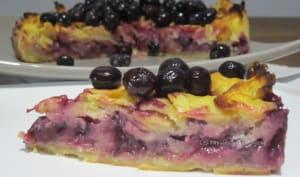 Gâteau invisible citron myrtilles
