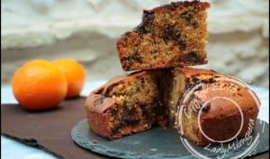 Gâteau au yaourt chocolat-orange