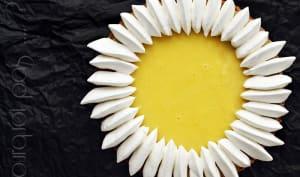 Tarte soleil citron coco