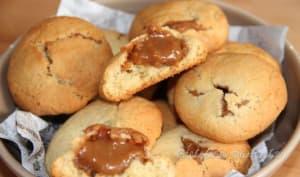 Cookies au coeur de pâte de spéculoos