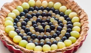 Tarte aux trois raisins