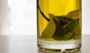 Huile d'olive parfumée