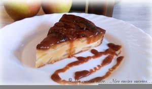 Délice Normand aux pommes & caramel beurre salé