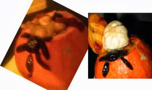 Soupe à la citrouille, courge ou potimarron pour Halloween