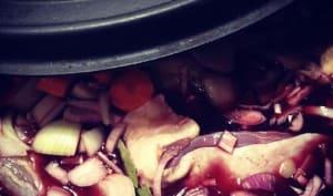 Le coq au vin de Mauricette