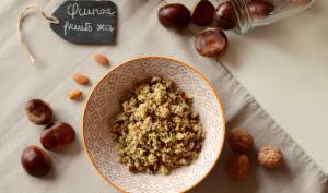 Salade de quinoa et fruits secs