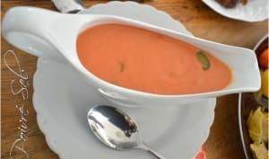 Béchamel piquante à la tomate et cornichons facile à faire