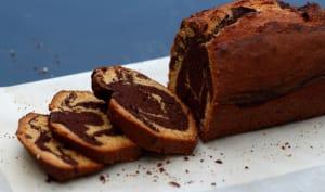 Cake marbré chocolat spéculoos