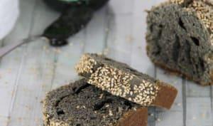 Cake très très noir au sésame