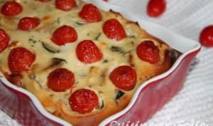 Clafoutis de courgettes sans gluten